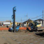 市営住宅の液状化対策・地盤改良