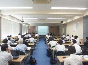 第47回地盤工学研究発表会会議中1