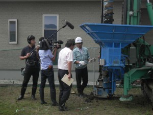 NHKで、エコジオ工法が放映されます。